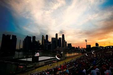 Singapore skyline and view of Bay Grandstand.jpg