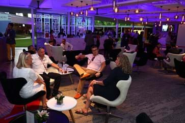 Guests mingling and networking at the Singapore Formula One Paddock Club-min.jpg