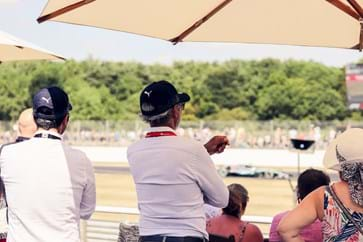 Lewis Hamilton Passes Silverstone Live at British GP