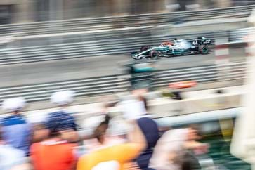 Lewis Hamiton at the Monaco Grand Prix