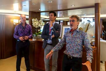 Q&A with Harry Gibbings, Mark Webber and Eddie Jordan