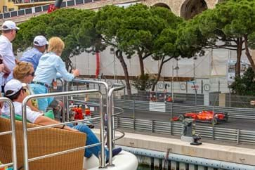 Super Yacht Hospitality vies at the Monaco Grand Prix