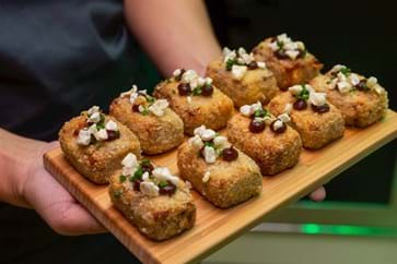 Canapes from Lush by Tom Kerridge