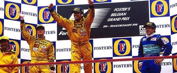 1998 Belgian Grand Prix Podium