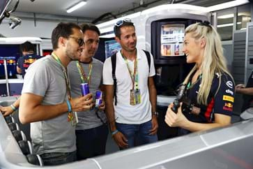 Red Bull F1 Garage Tour