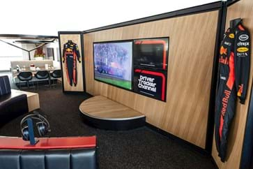 Red Bull Paddock Club Video Wall