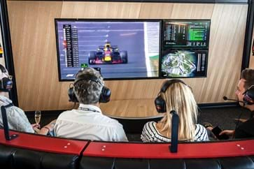 Race Viewing At Red Bull Paddock Club